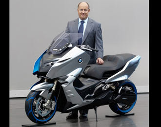 Motor Scooters on Bmw Producing Scooters Concept C In 2012   Otospeed