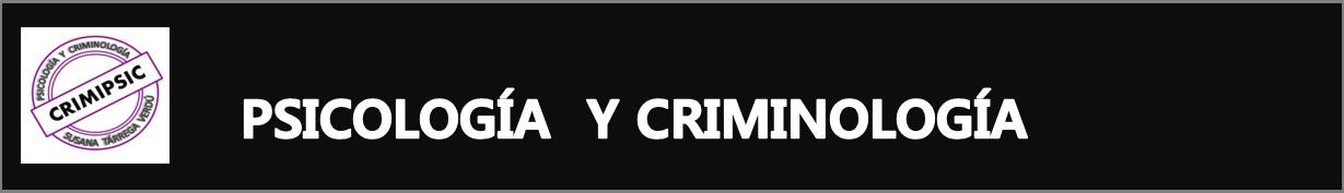 Psicología y Criminología