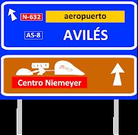 Cartel de autopista