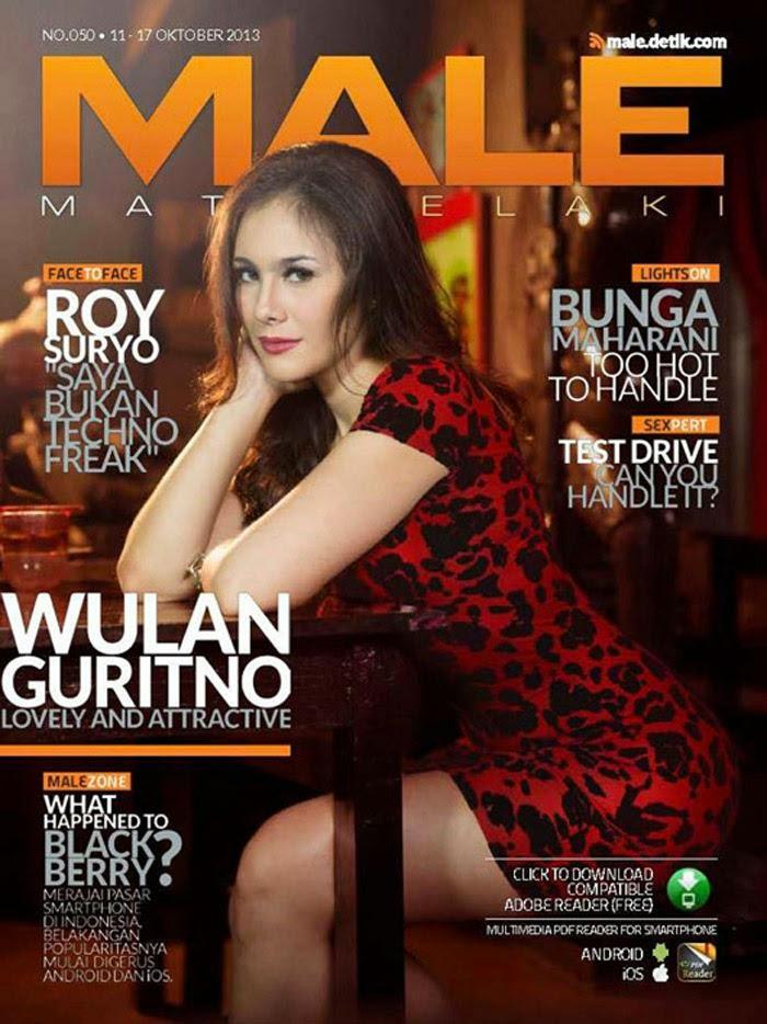 Wulan Guritno for Male Magazine October 2013 | Popular World Magazine