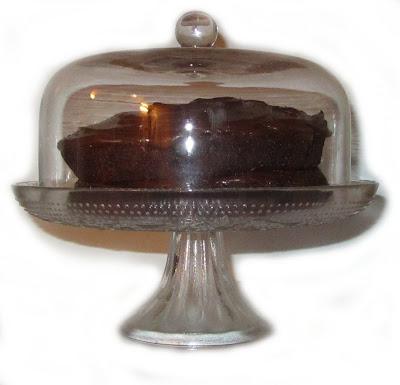 cake stand, cake, stand, dome,glass, chocolate, orange, moist, sponge, yum
