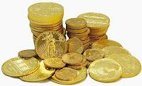 ouro numismática