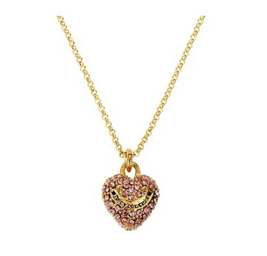 Juicy couture necklaces in hand for Juicy couture jewelry necklace