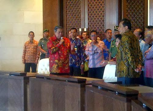 SBY : Untuk Saya, Jangan Lupa Disiapkan Permen Kopi Ya?