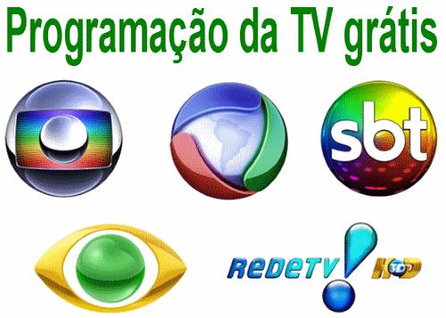 programação da TV grátis