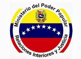 WEB DEL MINISTERIO DE INTERIOR, JUSTICIA Y PAZ
