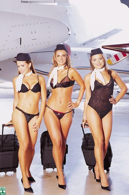 Kolumbien wählt di Azafata Latina bombastic airlines