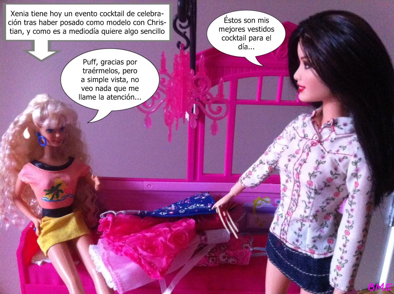 Barbie, mi estilo: Xenia\'s friends: Cap.2 Chico-chica, chico