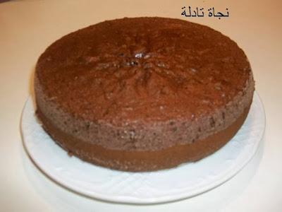 torta 95 طورطة بالشكلاط للمناسبات السعيدة