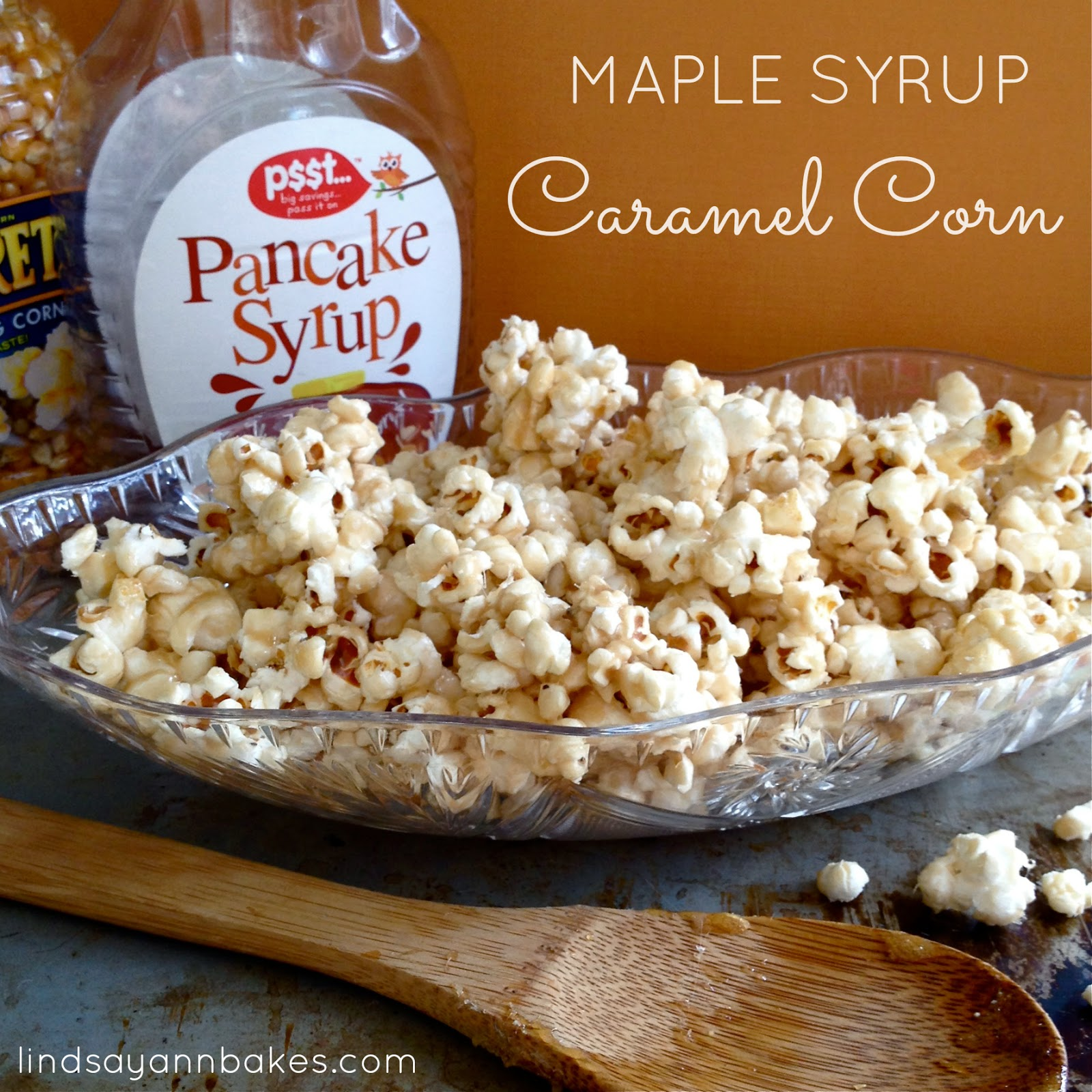 Super Simple Skinny Maple Syrup Caramel Corn (gluten free, vegan, and ...