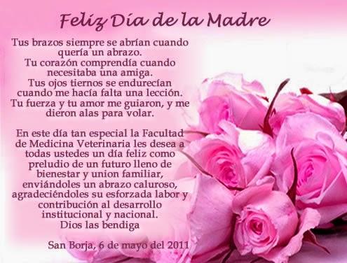 Poemas para dedicar el día de la Madre