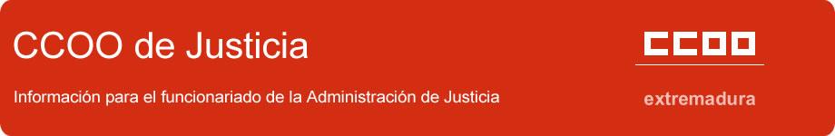 CCOO de Justicia - Extremadura