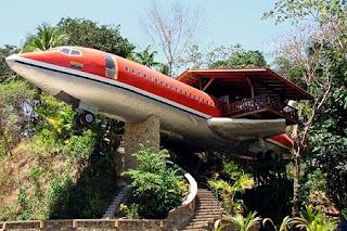 Avión Convertido en Casa, Arquitectura Sostenible