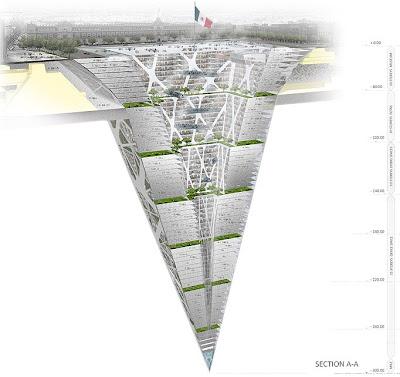 Earthcraper - Piramid terbalik besar dalam tanah di Mexico