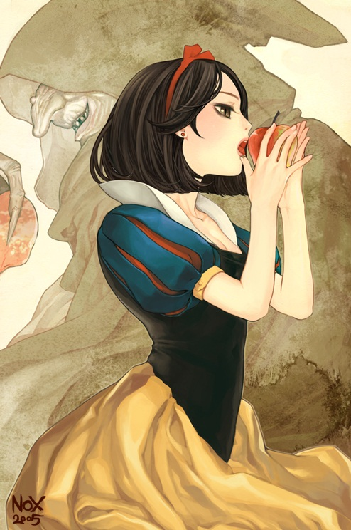 Snow White and the Seven Dwarfs, Snow White anime,anime cute wallpaper