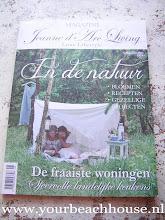 Woonreportage van ons huis in magazine Jeanne d 'arc living