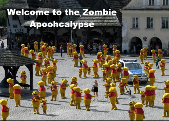 funny, cute zombies