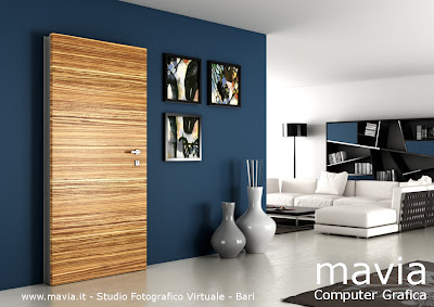Arredamento di interni rendering porte 3d rendering for Rendering case moderne