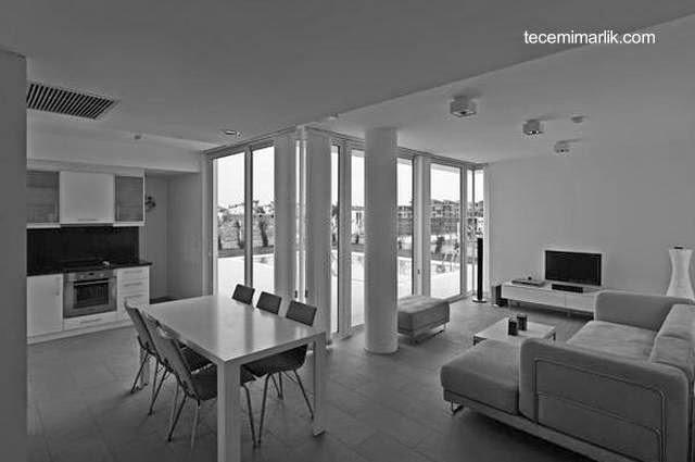 Interior de una de las viviendas del complejo turco