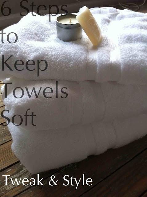 keep towels soft