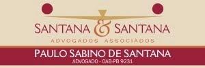 FORTE ADVOGADO  DR PAULO SABINO  EM  CAJAZEIRAS PB