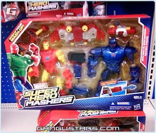 Hasbro Marvel toys Ironman Iron Monger Super Hero Mashers