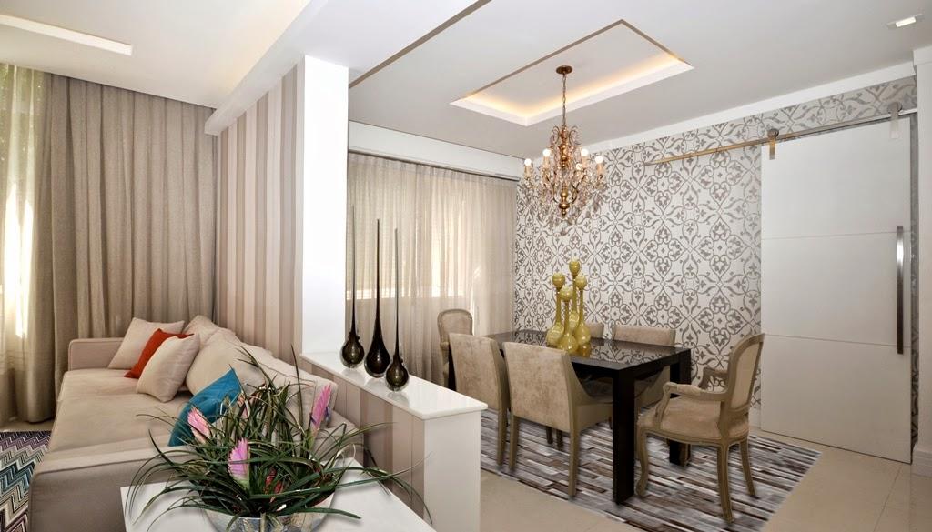 algumas imagens de sala de estar e jantar conjugadas para se inspirar ~ Decoracao De Sala De Estar Pequena Com Mesa De Jantar