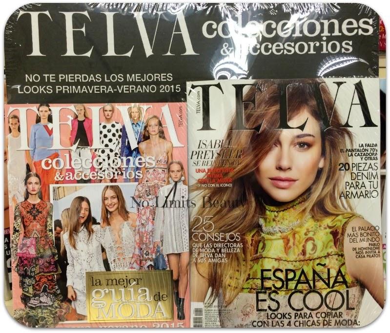 Regalos revistas Marzo 2015: Telva