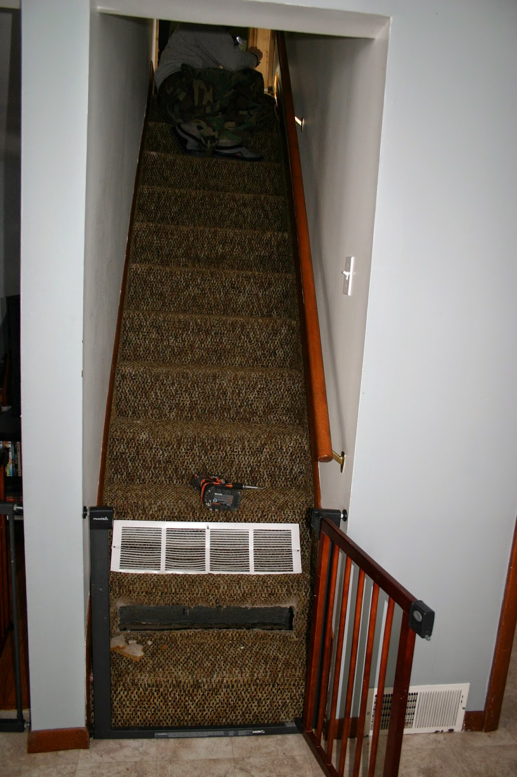 A $20 Stair Makeover