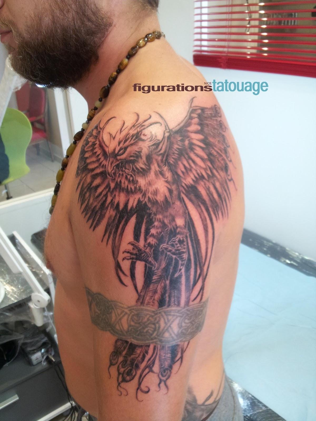 3d tatouage phoenix bras galerie tatouage - Tatouage phoenix bras ...