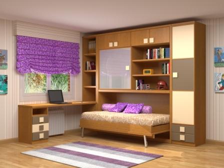 Cama mesa abatible camas autoportantes camas abatibles for Muebles juveniles abatibles