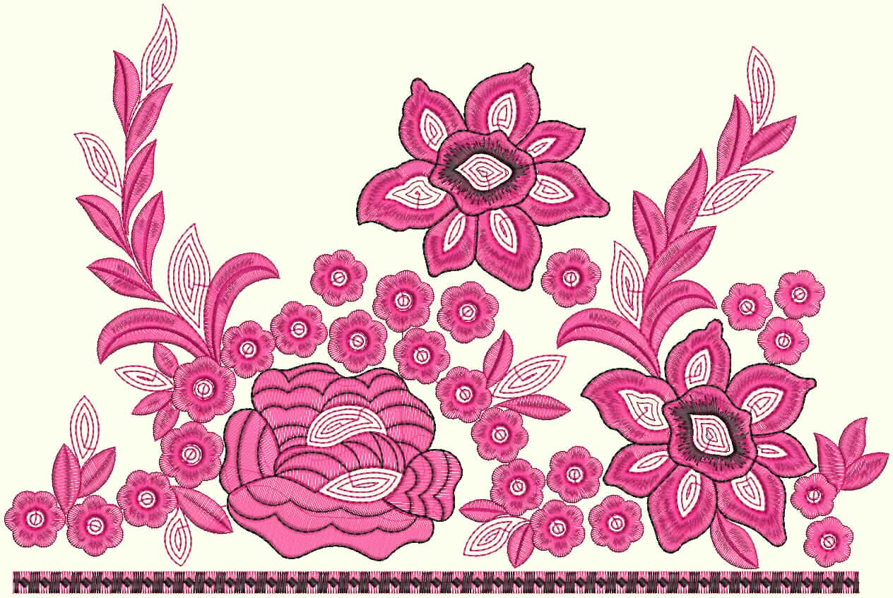 Embroidery Designs for Sarees Border http://www.hawaiidermatology.com/saree/saree-border-embroidery-designs.htm