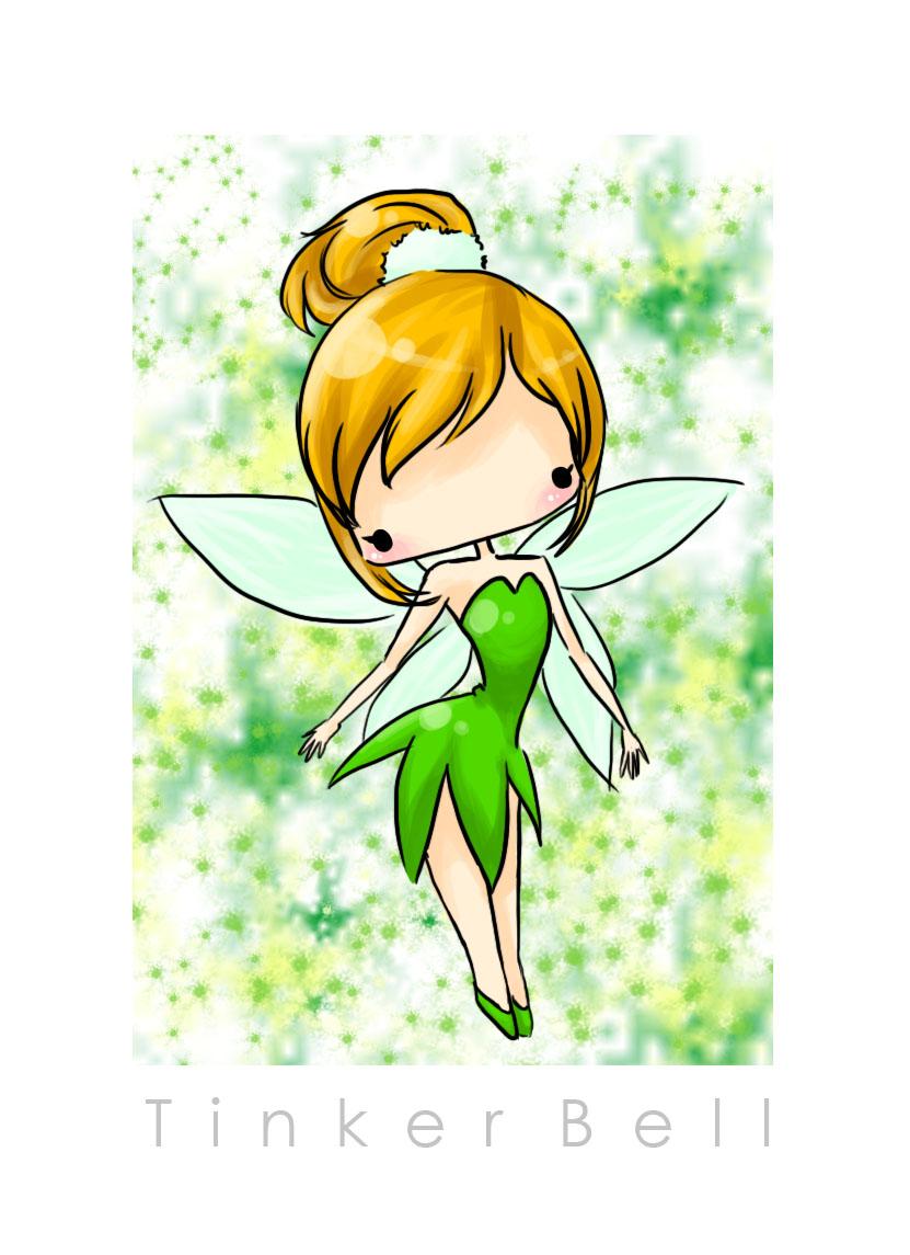 Fairy Tales - Tinker Bell por ohin