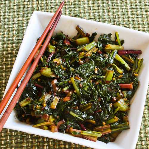 Spicy Asian Stir-Fried Swiss Chard Recipes — Dishmaps