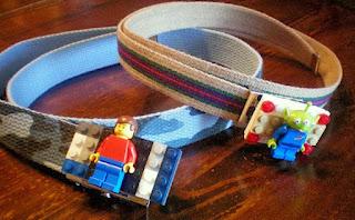 Làm dây nịt đồ chơi Lego