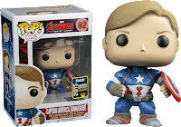Funko Pop! Unmasked Captain America
