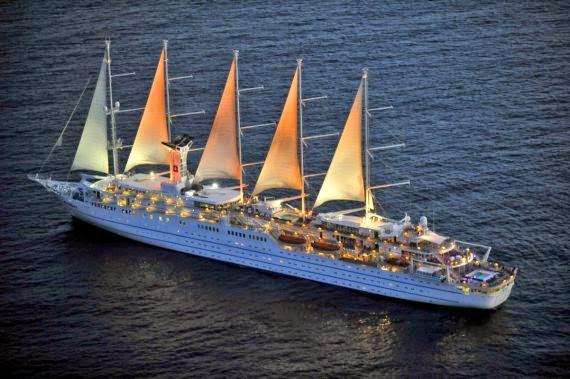 Iscomigoo à la Villa Schweppes à bord du Club Med II