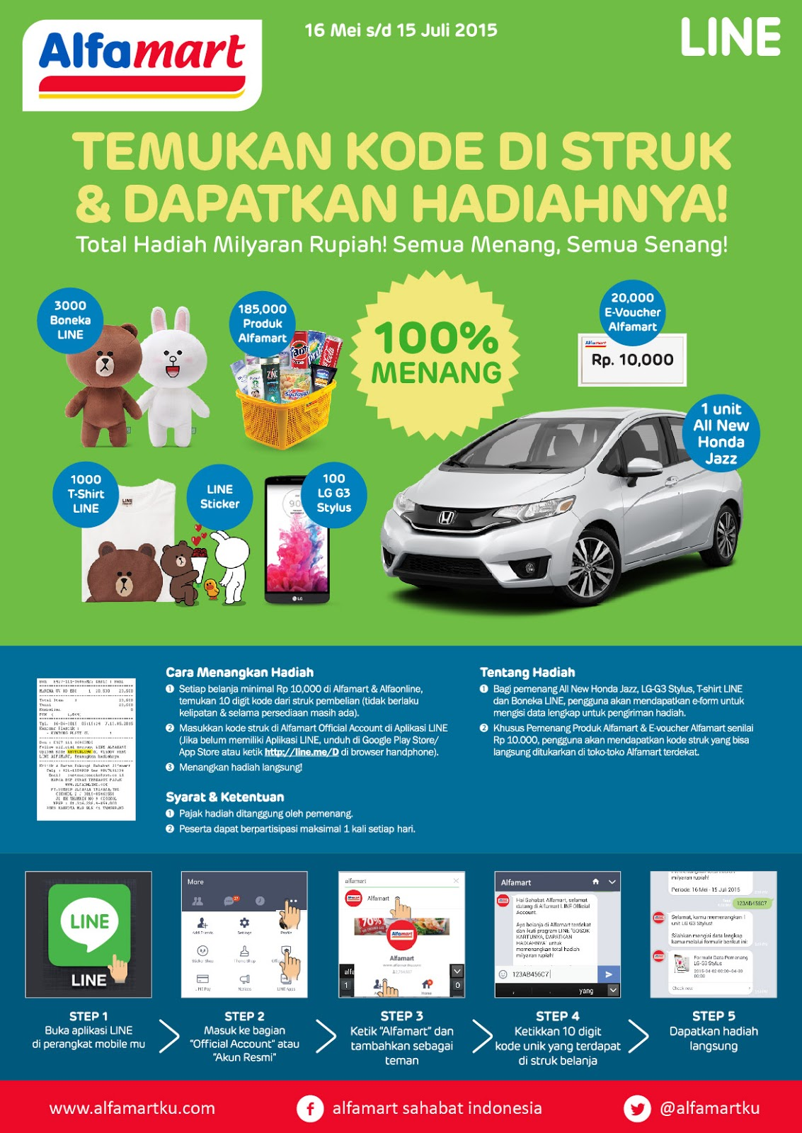 Katalog Promo Daftar Harga Diskon Alfamart Terbaru Juli 2015 E Voucher 1 Juta