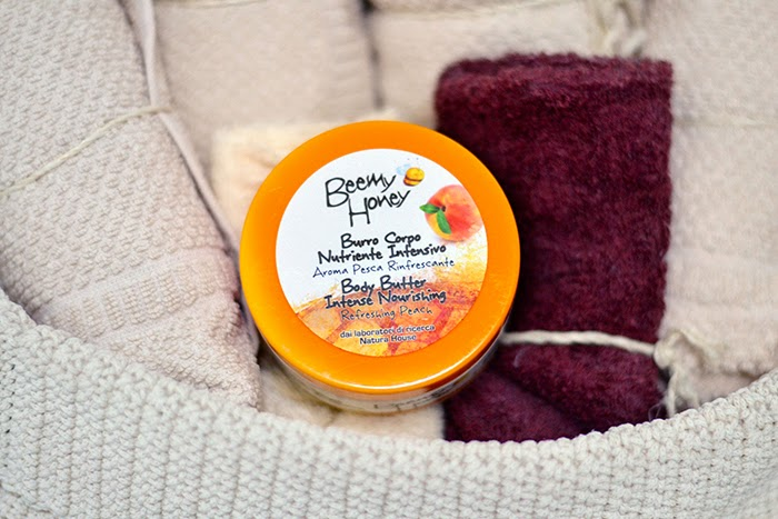 crema corpo miele