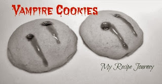 Vampire Cookies - Halloween Food
