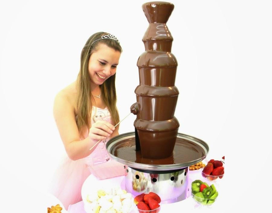 Cascada de chocolate Candy 5 pisos 1 metro de altura