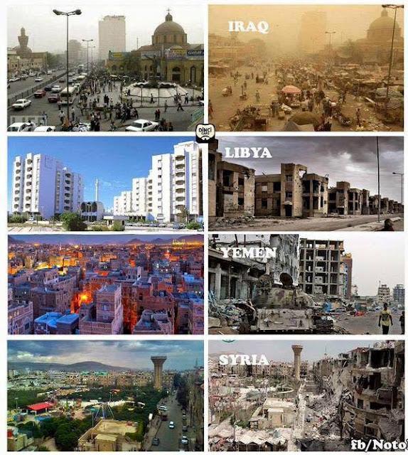 United States, Intervention, Iraq, Libya, Yemen, Syria, Pictures, War,