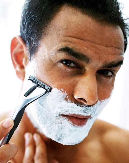 mens facial cleaning