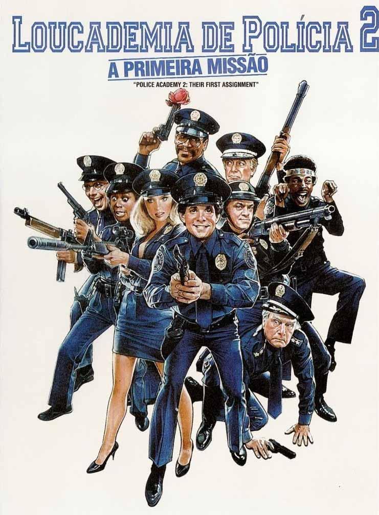 Loucademia de Polícia 2: A Primeira Missão Torrent - Blu-ray Rip 720p e 1080p Dual Áudio (1985)