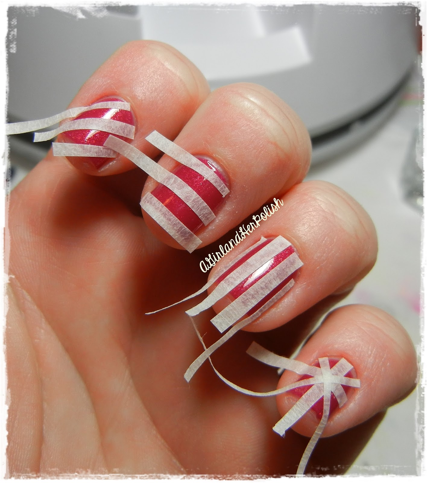 Patterns Using Tape Nail Art: A Girl And Her Polish: Born Pretty Store Nail Art Tape
