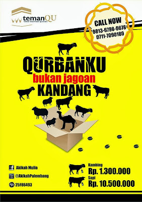 Brosur Layanan Kurban di Palembang