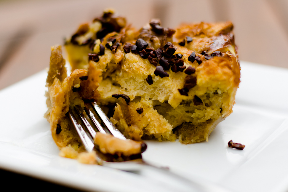 Baked French Toast with Bananas, Walnuts, and Cacao Nibs | Cupcake ...