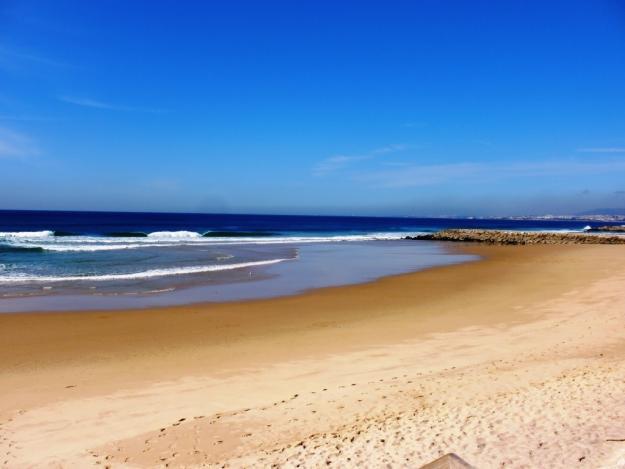 Costa de Caparica plaże Portugalia najlepsze jakie są plaże w Portugalii