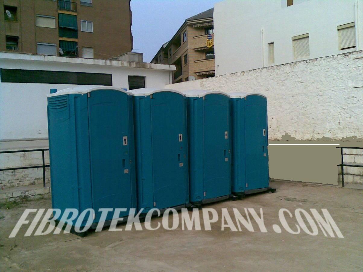 Baño Portatil Infantil:fibrotek company: parques infantiles, toboganes acuaticos, baños