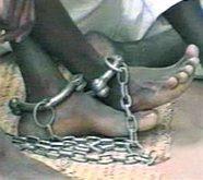 Slave manacles